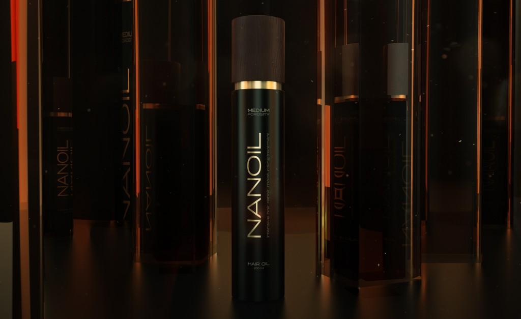 Une des meilleures huiles capillaires - Nanoil